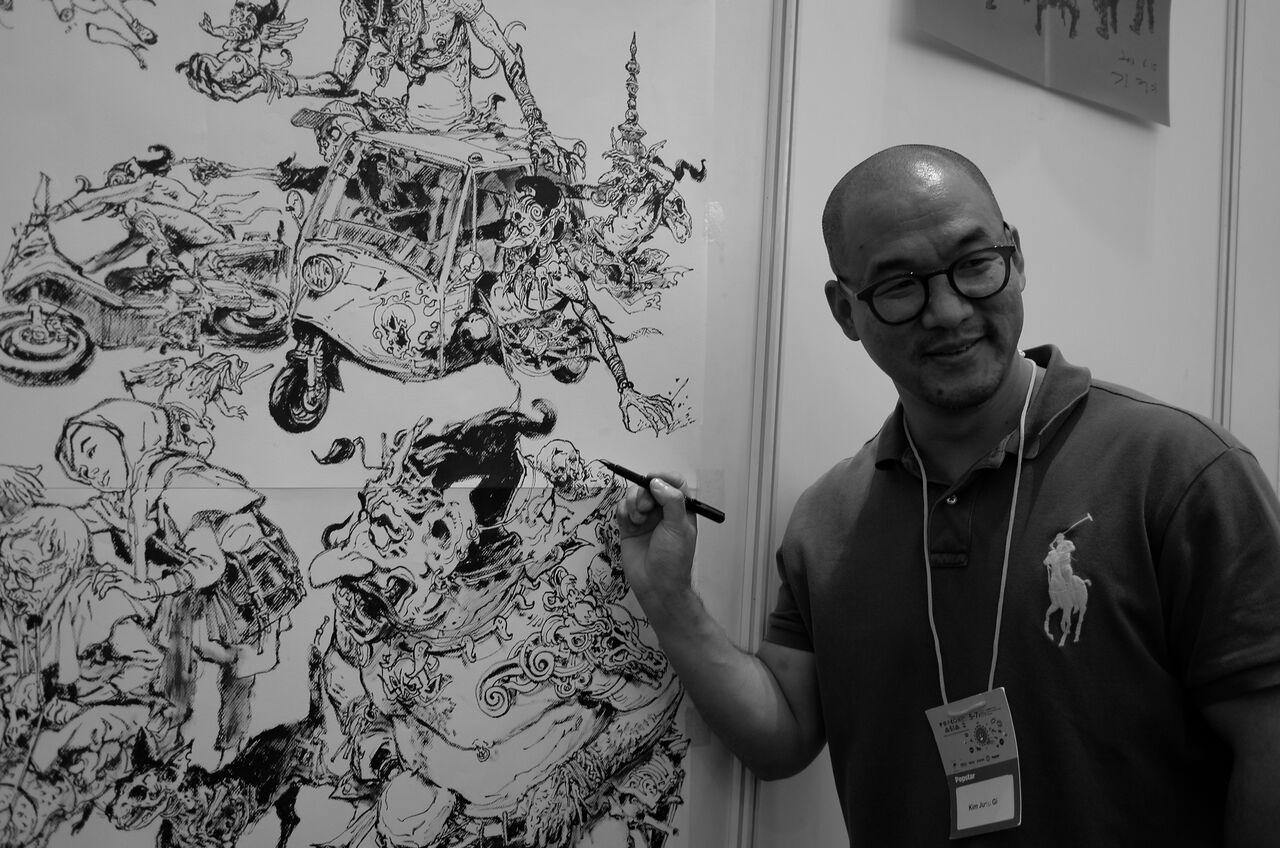 【Kim Jung Gi | 金政基 ~韓国出身の天才的アーティスト~】