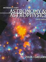 Introductory Astronomy & Astrophysics (Saunders Golden Sunburst Series) (4TH)