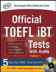 Official Toefl ibt Tests : With Audio 〈1〉 (PAP/CDR)
