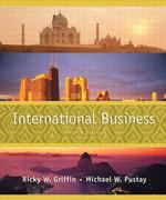 International Business : A Managerial Perspective (4 PCK SUB)