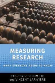 Measuring Research : What Everyone Needs to Know