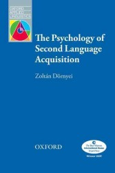 Oxford Applied Linguistics: the Psychology of Second Language Acquisition