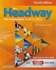 New Headway 4th Edition Pre-intermediate Student Book and Itutor Dvd-rom Pack and Online Skills Program (4TH)
