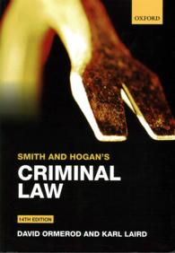 Smith and Hogan's Criminal Law (14TH)