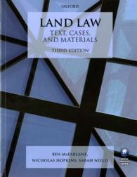 Land Law : Text, Cases, and Materials (Text, Cases, and Materials) (3TH)