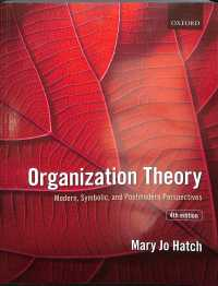 Organization theory modern, symbolic, and postmodern perspectives