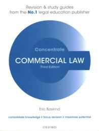 Commercial Law Concentrate : Law Revision and Study Guide (Concentrate) (3 STG)