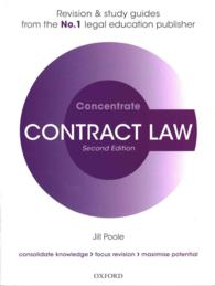 Contract Law Concentrate : Law Revision and Study Guide (Concentrate) (2 STG)