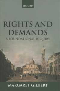 Rights and Demands : A Foundational Inquiry (Reprint)