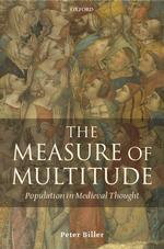 中世思想における人口、マルチチュード<br>The Measure of Multitude : Population in Medieval Thought