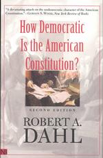 R.A.ダール『アメリカ憲法は民主的か』<br>How Democratic Is the American Constitution? (2ND)