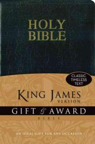 Holy Bible : King James Version Black Leather-Look Gift & Award Bible (Gift)