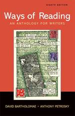 Ways of Reading : An Anthology for Writers (8TH)