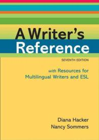 A Writer's Reference : With Resources for Multilingual Writers and Esl (7 SPI)