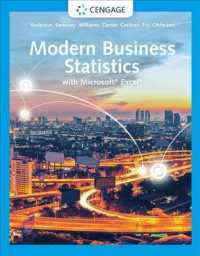 Modern Business Statistics with Microsoft Excel (Mindtap Course List) (7TH)
