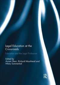 Legal Education at the Crossroads : Education and the Legal Profession