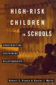 High-Risk Children in Schools : Constructing Sustaining Relationships