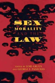 Sex Morality, and the Law