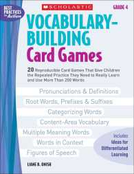 Vocabulary-Building Card Games, Grade 4 : 20 Reproducible Card Games That Give Children the Repeated Practice They Need to Really Learn and Use More t