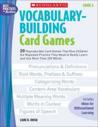 Vocabulary-Building Card Games, Grade 6
