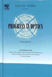 Progress in Optics (Progress in Optics) 〈64〉