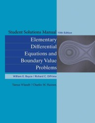 Elementary Differential Equations and Boundary Value Problems (10 SOL STU)