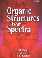 Organic Structures from Spectra (3TH)