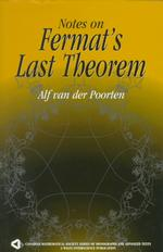 Notes on Fermat's Last Theorem (Canadian Mathematical Society Series of Monographs and Advanced Texts)