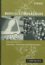 生体高分子:構造・機能・情報学入門<br>Biomacromolecules : Introduction to Structure, Function and Informatics