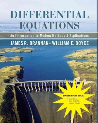 Differential Equations : An Introduction to Modern Methods and Applications (PCK UNBND/)