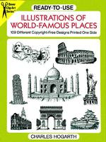Ready-To-Use Illustrations of World-Famous Places : 109 Different Copyright-Free Designs Printed on One Side (Dover Clip-art Series)
