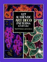 127 Authentic Art Deco Patterns in Full Color (Dover Pictorial Archive Series)