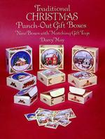 Traditional Christmas Punch-Out Gift Boxes