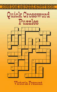 Quick Crossword Puzzles (Dover Game and Puzzle Activity Books)