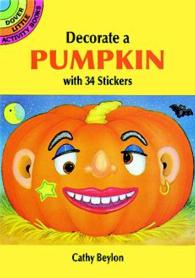 Make Your Own Halloween Pumpkin with 34 Stickers (Dover Little Activity Books Stickers) -- Paperback / softback