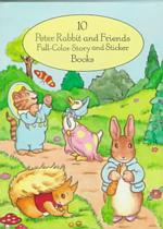 10 Peter Rabbit and Friends Full-Color Story and Sticker Books (10-Volume Set) (BOX)