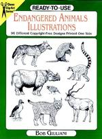 Ready-To-Use Endangered Animals Illustrations : 96 Different Copyright-Free Designs Printed One Side (Clip Art Series)