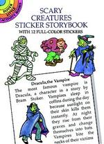 Scary Creatures Sticker Storybook (Dover Little Activity Books) -- Paperback / softback
