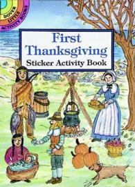 First Thanksgiving Sticker Activity Book (Dover Little Activity Books Stickers) -- Paperback / softback