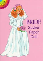 Bride Sticker Paper Doll (Dover Little Activity Books Paper Dolls) -- Stickers