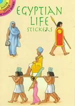 Egyptian Life Stickers (Dover Little Activity Books Stickers) -- Paperback / softback