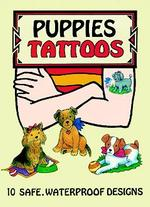 Puppies Tattoos (Dover Tattoos) -- Paperback / softback