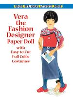 Vera the Fashion Designer Paper Doll