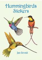 Hummingbirds Stickers (Dover Little Activity Books Stickers) -- Paperback / softback