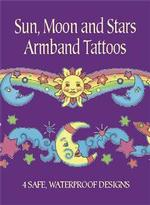 Sun, Moon and Stars Armband Tattoos (Dover Tattoos) -- Paperback / softback