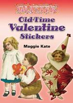 Glitter Old-time Valentine Stickers -- Mixed media product