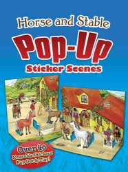 Horse and Stable Pop-Up Sticker Scenes (ACT INA ST)