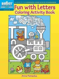 Fun with Letters Coloring Activity Book (Boost) (ACT CLR CS)
