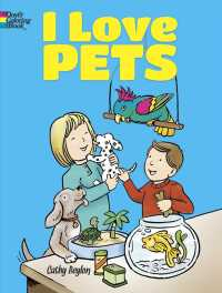 I Love Pets Coloring Book (Dover Coloring Books for Children) (CLR CSM)