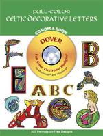 Full-Color Celtic Decorative Letters